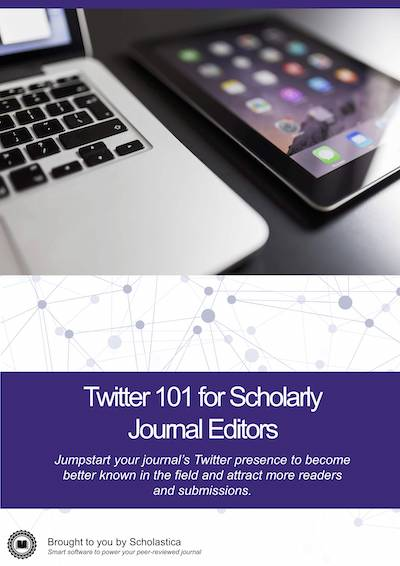 Twitter 101 for Scholarly Journal Editors cover